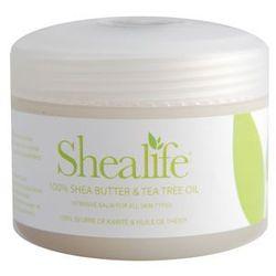 100% Masło Shea z olejkiem herbacianym - Shealife