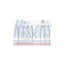 NISSENS Chłodnica oleju, olej silnikowy - 90607