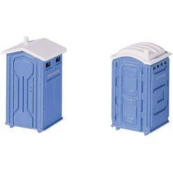 Toaleta przenośna, skala H0, epoka IV, 6 szt.