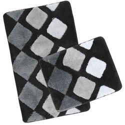 Komplet dywaników łazienkowych Ultra bruk, , 60 x 100 cm, 60 x 50 cm