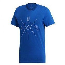 f60b47850 ADIDAS Koszulka męska TERREX ASCEND TEE - rozmiar M - kolor niebieski