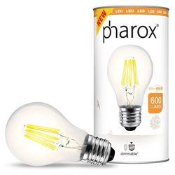 Żarówka Pharox LED A60 Clear 600 lumenów