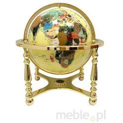 Globus Żółty Złoty Biurkowy