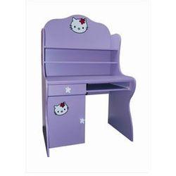 KITTY Kolorowe biurko dziecięce z nadstawką