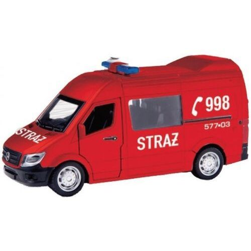 Model metalowy Mercedes Benz Sprinter 1-32 Straż