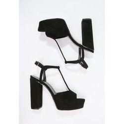 Zalando Iconics Sandały na platformie black