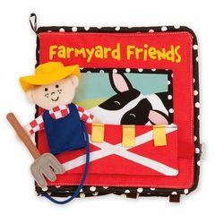 Manhattan Toy, Rolnik na farmie, pierwsza książeczka dziecka Darmowa dostawa do sklepów SMYK