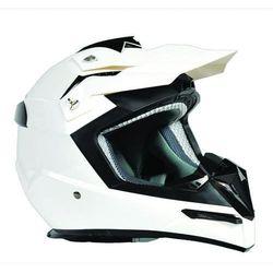 Kask Motocross Enduro ATV MX Ozone FMX Biały