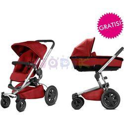 Wózek wielofunkcyjny 2w1 Buzz Xtra + GRATIS Quinny (Red Rumour)