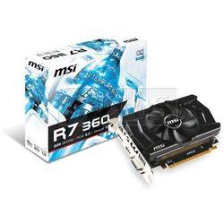 Karta graficzna MSI Radeon R7 360 2048MB DDR5/128b H/D PCI-E T OC - R7 360 2GD5 OC