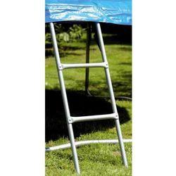 Drabinka do trampoliny o wysokości 90 cm od podłoża
