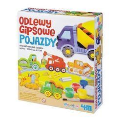 Zabawka 4M Odlewy Gipsowe - gipsowe pojazdy