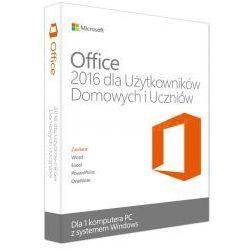Microsoft Office 2016 dla Użytkowników Domowych i Uczniów 32/64 Bit PL - promocja przy zakupie z komputerem lub notebookiem