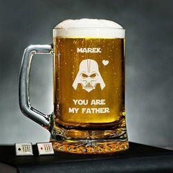 Vader Dad - Personalizowany Kufel - Kufel do piwa
