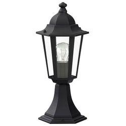 Zewnętrzna LAMPA stojąca VELENCE 8206 Rabalux IP43 OPRAWA ogrodowa SŁUPEK outdoor czarny