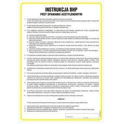 Instrukcja BHP przy spawaniu acetylenowym