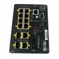 IE-2000-8TC-B Switch Cisco IE2000 8FE RJ45 ports, 2FE uplinks, Lan Base