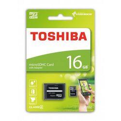 Toshiba microSDHC 16GB class 4 High Speed M102 adapter