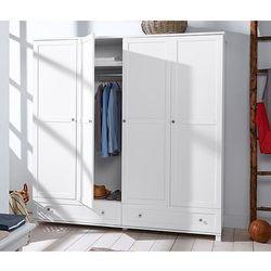 Szafa na ubrania, 4-drzwiowa