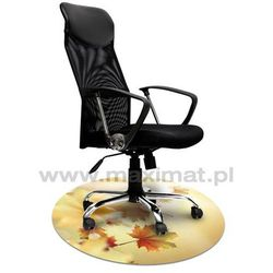 Mata ochronna pod krzesło z grafiką 017 - okrągła średnica 100cm, grubość 1,3mm