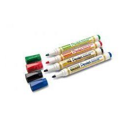 Pentel MW85 zestaw 4 sztuk kolorowych markerów