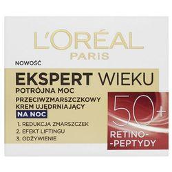 Loreal Paris Expert Wieku 50+ Przeciwzmarszczkowy ujędrniający krem do twarzy na noc 50 ml