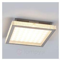 Lampa sufitowa LED ze szklanymi kryształkami
