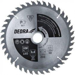 Tarcza do cięcia DEDRA H25040 250 x 30 mm do drewna