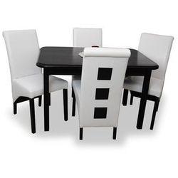 Zestaw MELAR I (4 krzesła/stół 80x120/150)