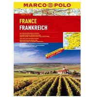 Francja atlas 1:300 000 Marco Polo