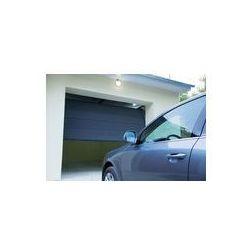 Foto naklejka samoprzylepna 100 x 100 cm - Samochód pobliżu automatycznej bramy garażowej