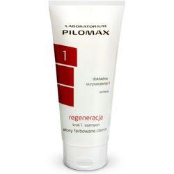 WAX Pilomax regeneracja krok 1 szampon do włosów farbowanych ciemnych 200ml