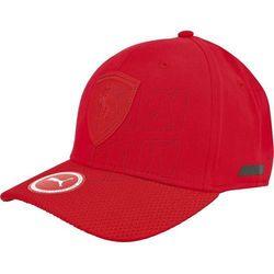 Czapka z daszkiem Puma Ferrari Lifestyle First Cap rosso corsa M 05290602