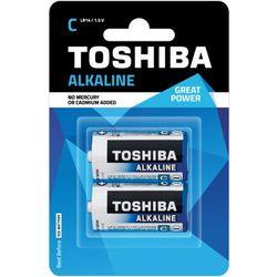 TOSHIBA Bateria Alkaline C R14 LR14 TOSHIBA LR14 ALKALINE R14 C