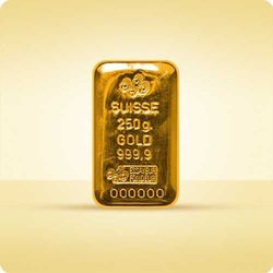 250 g sztabka złota