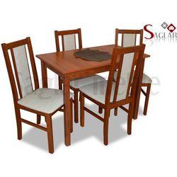 Zestaw AMUR I 4 krzesła i stół 58x100