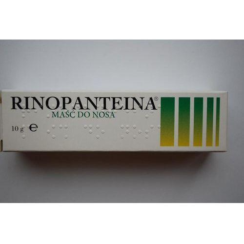 Rinopanteina maść do nosa
