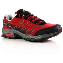 HASBY czerwone buty trekkingowe damskie wodoodporne - czerwony