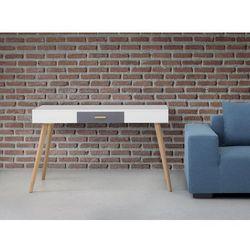 Biurko biale - meble biurowe - stolik - biurko komputerowe - RUSH
