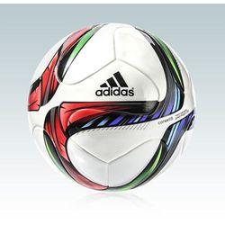 Adidas, piłka nożna Conext15 j290 #4, biała, multikolor Darmowa dostawa do sklepów SMYK