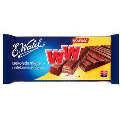 E. Wedel WW Czekolada mleczna z wafelkami orzechowymi 235 g