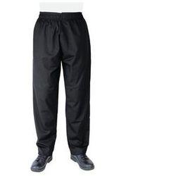 Czarne spodnie | poliester / bawełna | rozmiary XS-XXL