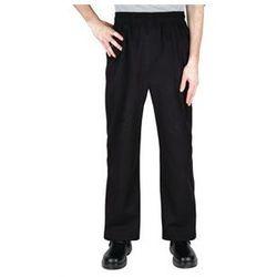 Luźne spodnie czarne | rozmiary XS-XXL
