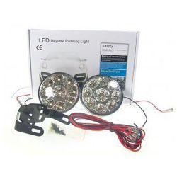 Światła do jazdy dziennej LED dzienne okrągłe DRL
