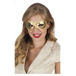 Maska na oczy złota