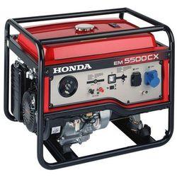 HONDA Agregat EM5500CXS-AUTO jednofazowy 5,5kW