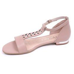 Sandały damskie Ryłko 0AD89T2 różowy-MF6