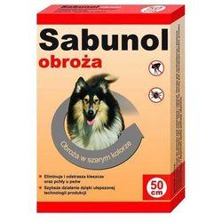 DR SEIDEL Sabunol - obroża przeciw pchłom i kleszczom dla psa szara 50cm