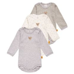 Steiff Collection 3 PACK Body softgrey melange/gray