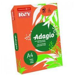 Papier ksero a4 80g Adagio 21 pomarańczowy